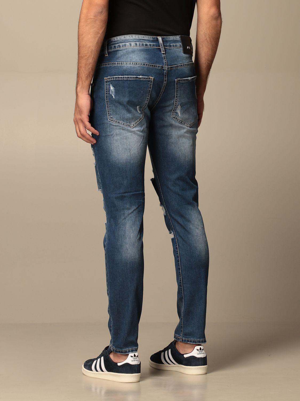 Jeans Alessandro Dell'acqua: Jeans men Alessandro Dell'acqua denim 2