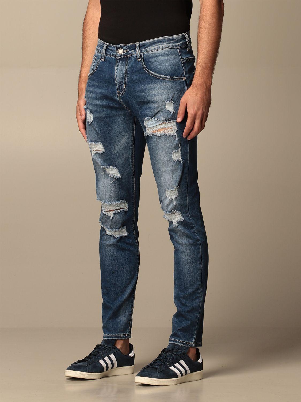 Jeans Alessandro Dell'acqua: Jeans men Alessandro Dell'acqua denim 3