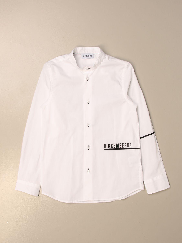 Camisa Bikkembergs: Camisa niños Bikkembergs blanco 1