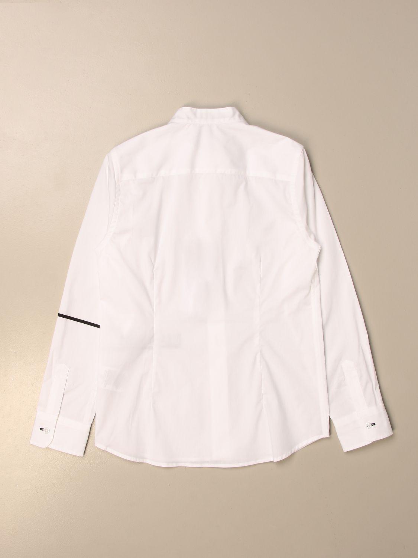 Camisa Bikkembergs: Camisa niños Bikkembergs blanco 2