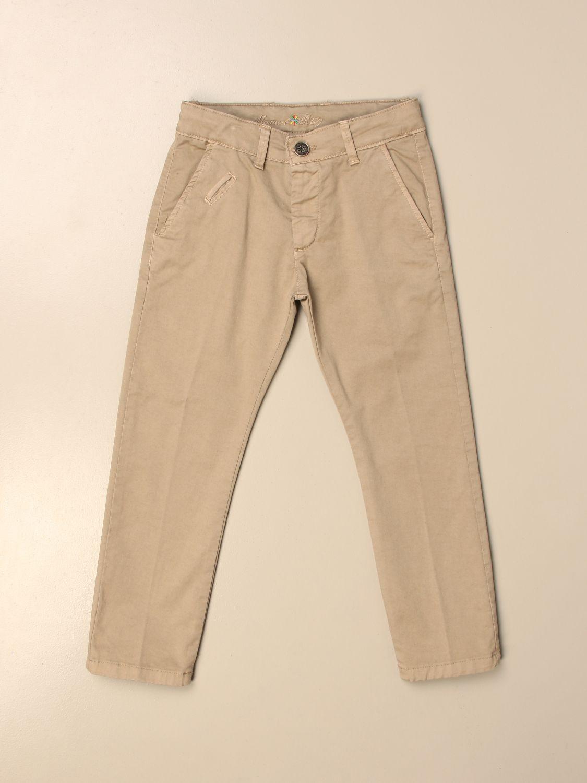Pantalón Manuel Ritz: Pantalón niños Manuel Ritz beige 1