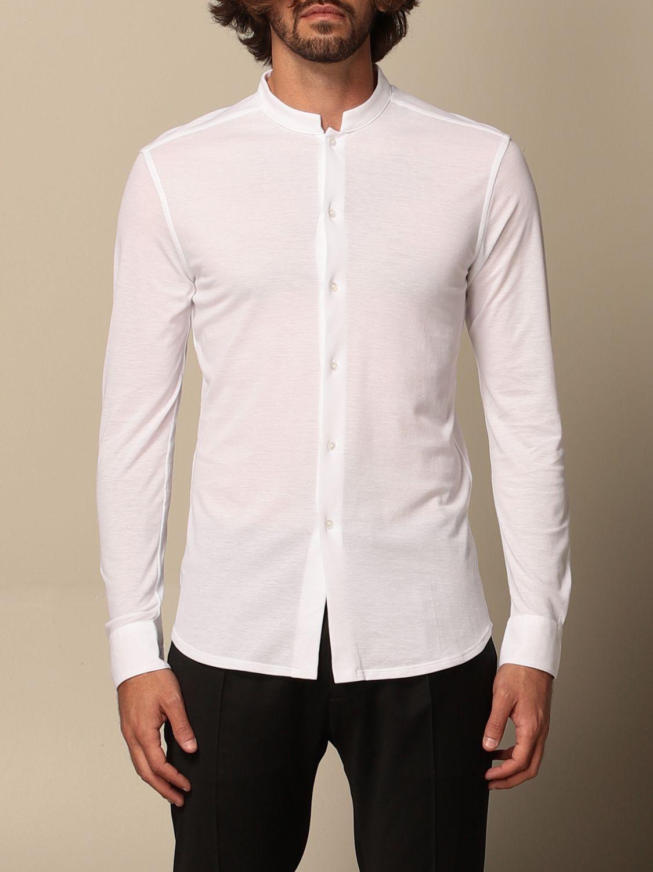 Camisa Paolo Pecora: Camisa hombre Paolo Pecora blanco 1