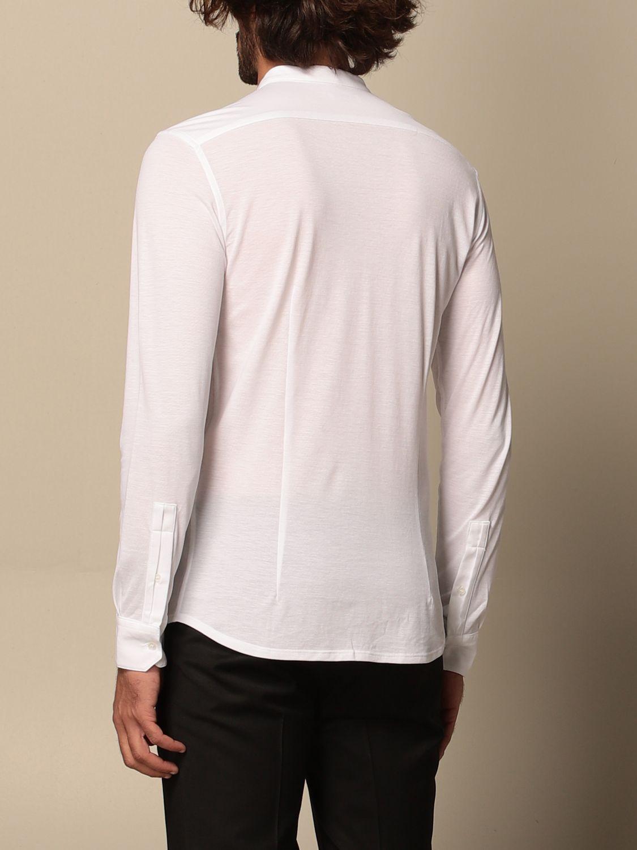 Camisa Paolo Pecora: Camisa hombre Paolo Pecora blanco 2