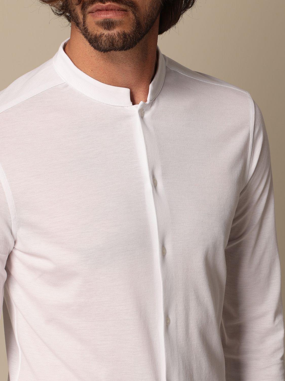 Camisa Paolo Pecora: Camisa hombre Paolo Pecora blanco 4