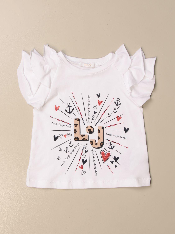 Top Liu Jo: T-shirt kids Liu Jo white 1