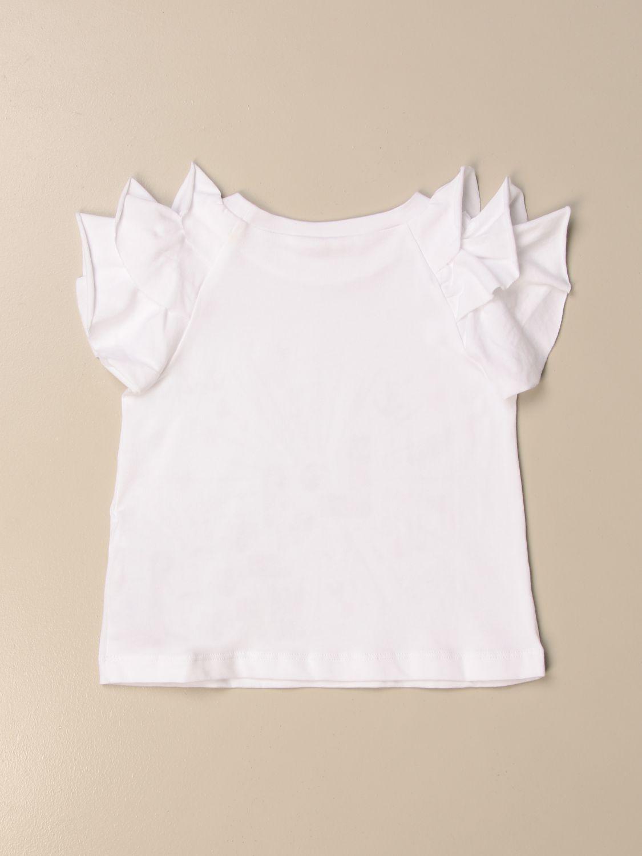 Top Liu Jo: T-shirt kids Liu Jo white 2