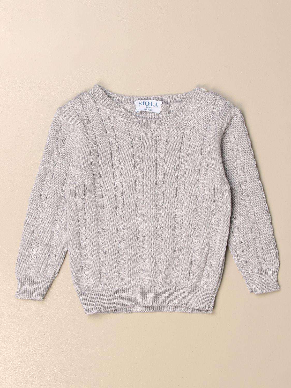 毛衣 Siola: 毛衣 儿童 Siola 灰色 1