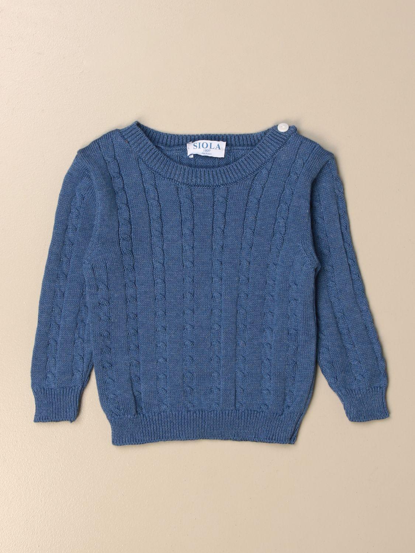 毛衣 Siola: 毛衣 儿童 Siola 蓝色 1 1