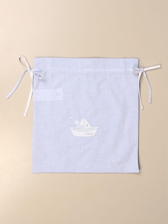 Blanket set Le Bebé: Blanket set kids Le BebÉ sky blue 1