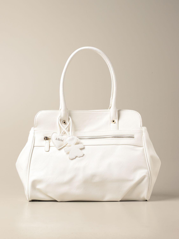 Bag Le Bebé: Bag kids Le BebÉ white 1
