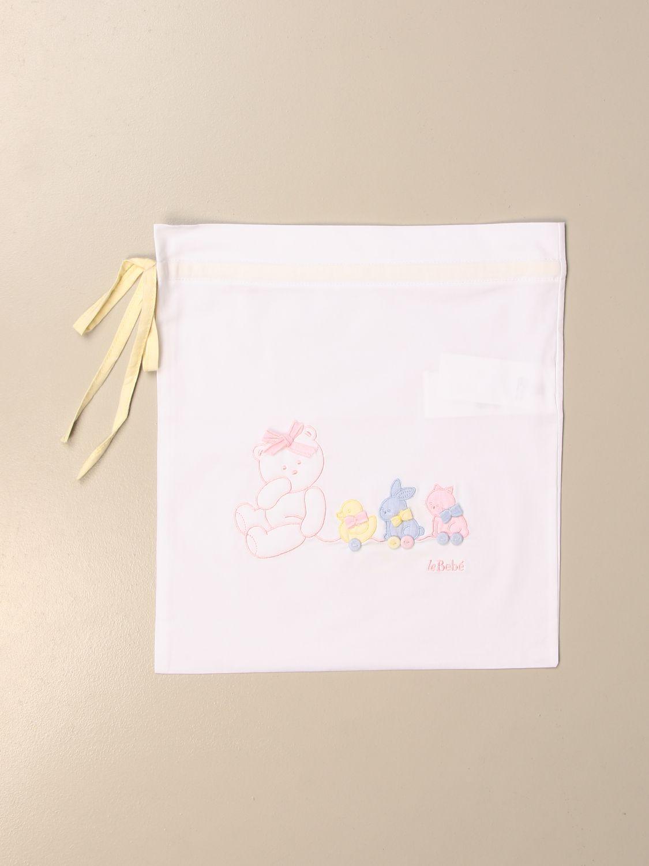 Conjunto de manta Le Bebé: Conjunto de manta niños Le BebÉ blanco 1