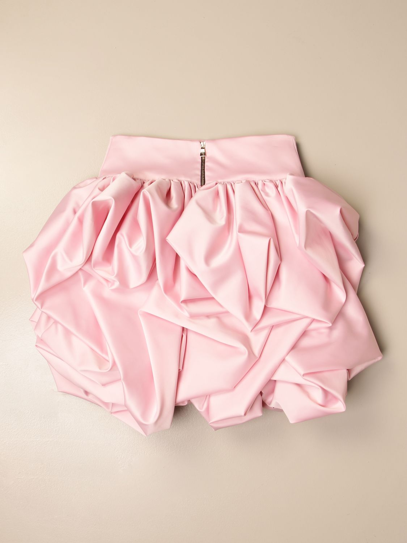 Falda Balmain: Falda niños Balmain rosa 2