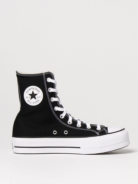 Спортивная обувь Converse: Обувь Женское Converse черный 1