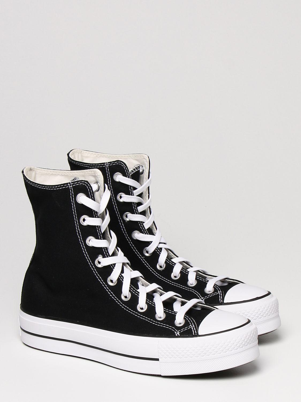 Спортивная обувь Converse: Обувь Женское Converse черный 2