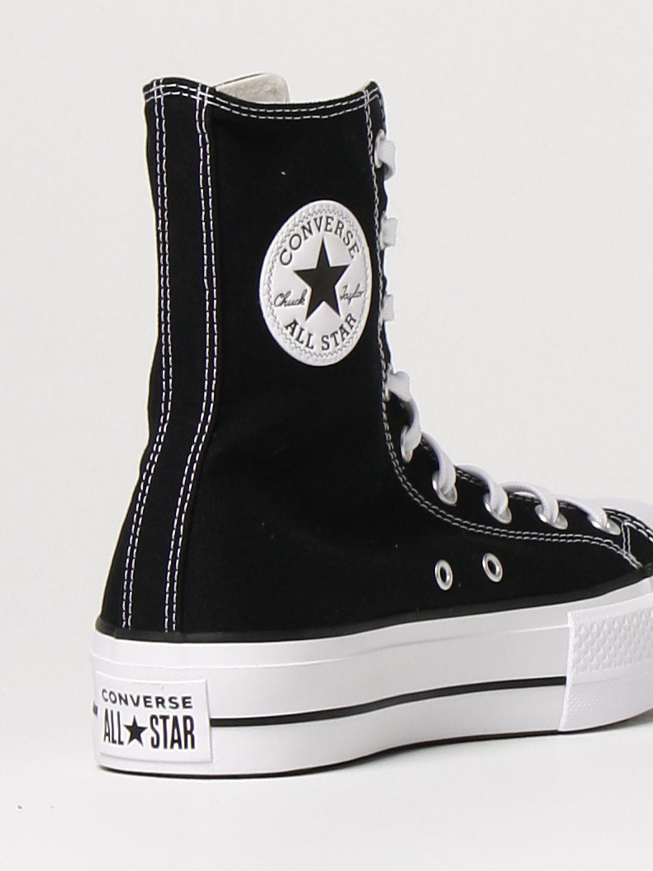 Спортивная обувь Converse: Обувь Женское Converse черный 3