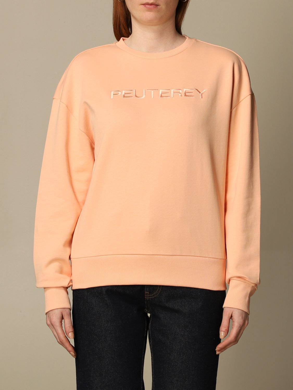 Sweatshirt Peuterey: Sweatshirt women Peuterey cream 1