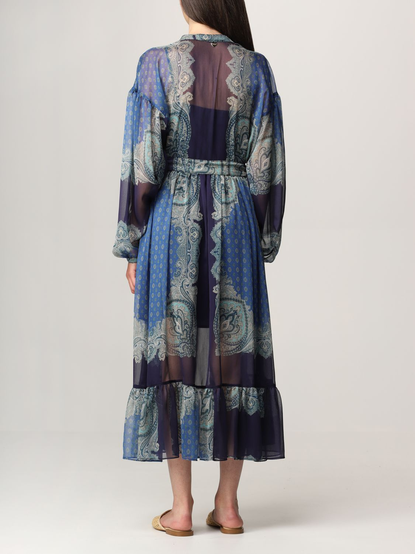 Vestido Twin Set: Vestido mujer Twin Set azul oscuro 2