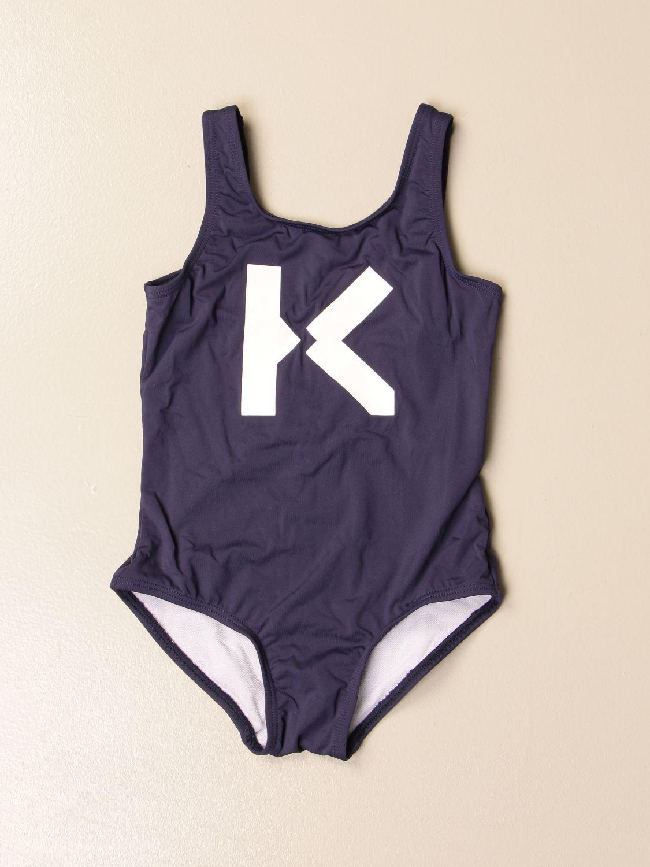 Costume Kenzo Junior: Costume intero Kenzo Junior con big logo K blue 1
