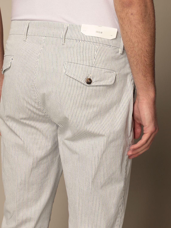 Trousers Briglia: Trousers men Briglia white 4