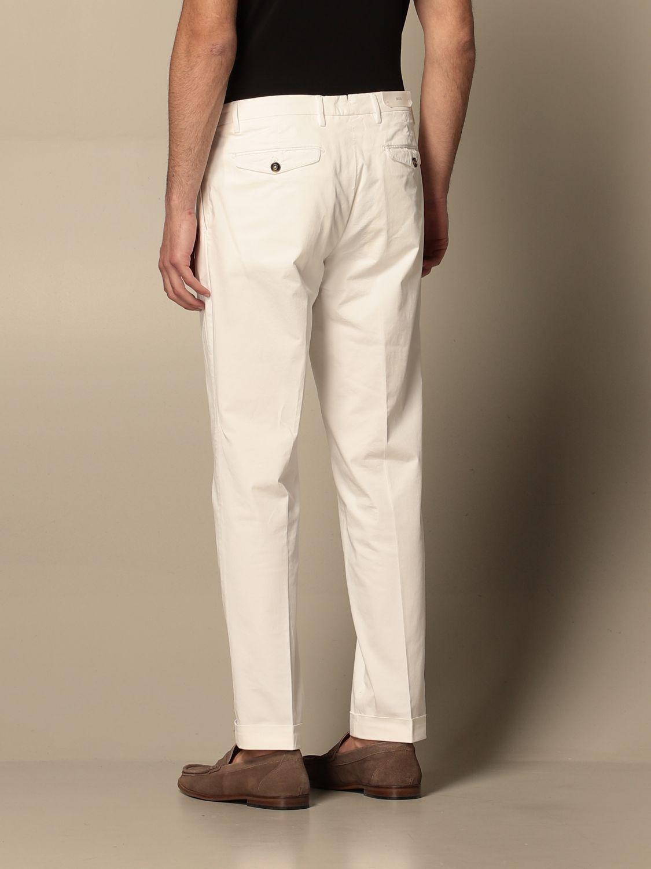 Pantalone Briglia: Pantalone Briglia con tasche america bianco 2