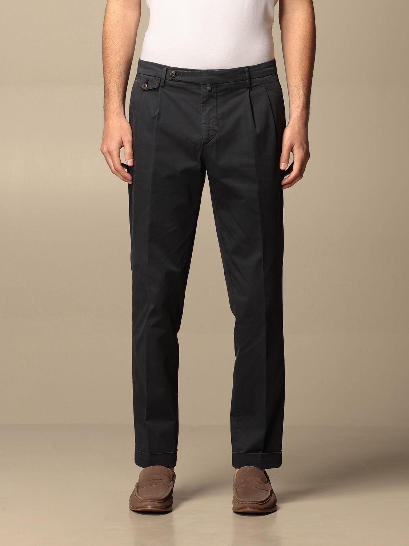 Trousers Briglia: Trousers men Briglia blue 1