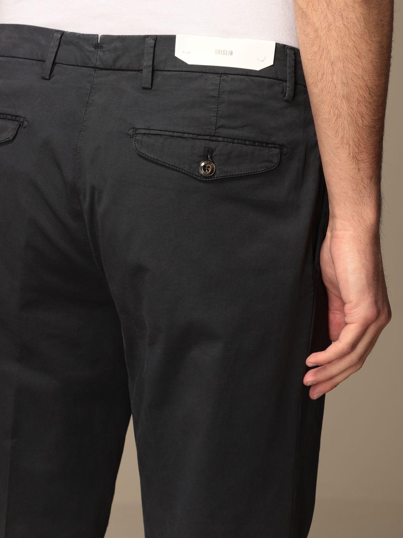 Trousers Briglia: Trousers men Briglia blue 4