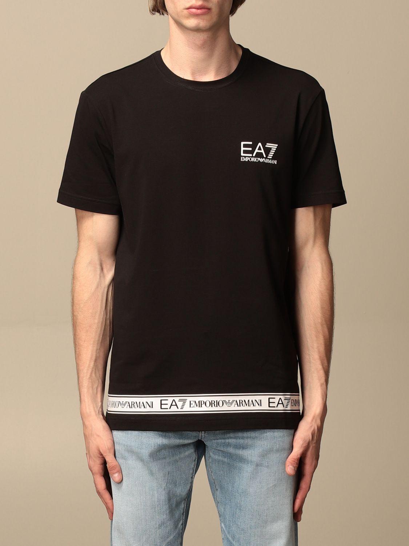 T-shirt Ea7: T-shirt men Ea7 black 1