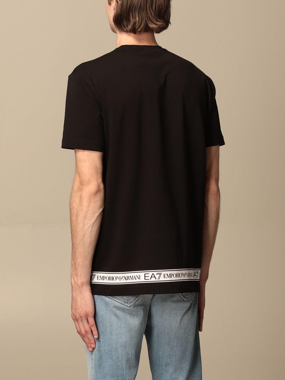 T-shirt Ea7: T-shirt men Ea7 black 2