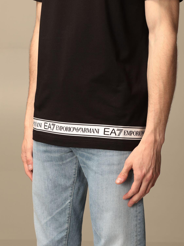 T-shirt Ea7: T-shirt men Ea7 black 3