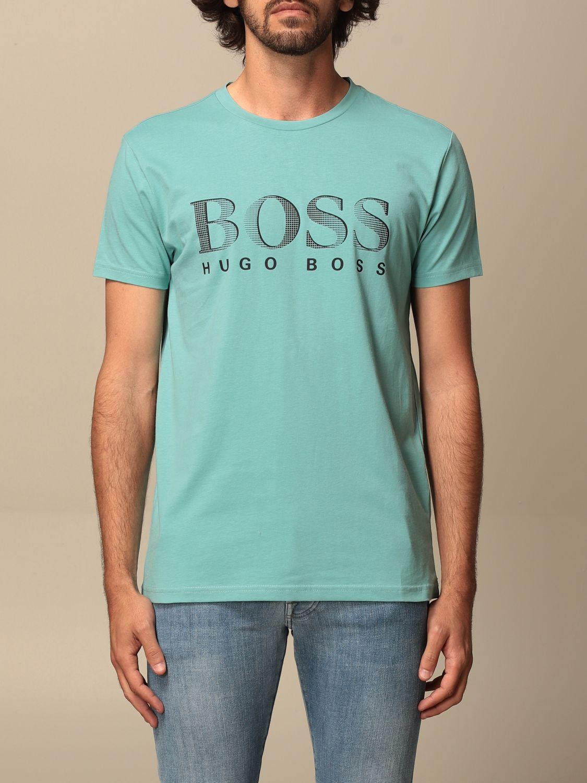 T-shirt Boss: T-shirt men Boss green 1