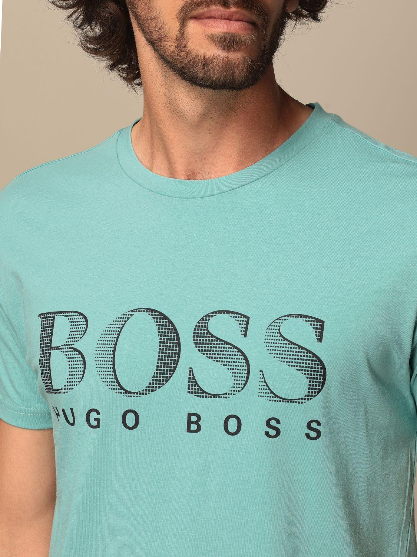 T-shirt Boss: T-shirt men Boss green 3