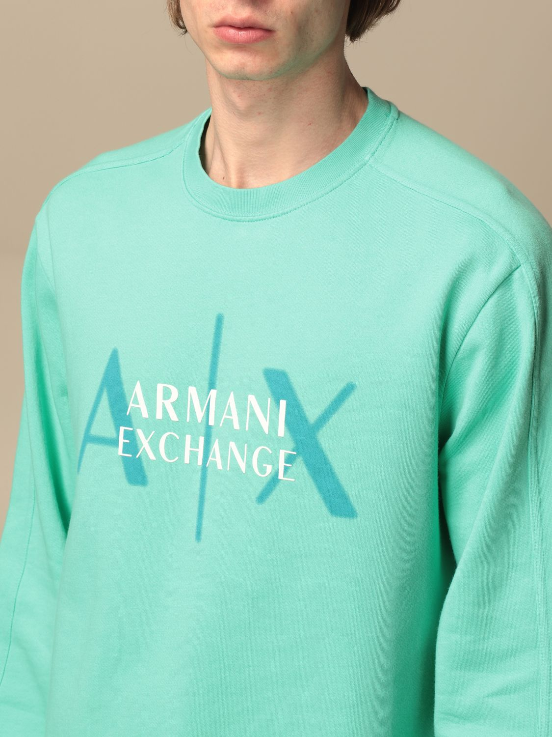 Sweatshirt Armani Exchange: Sweatshirt men Armani Exchange multicolor 3