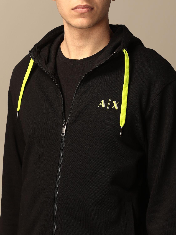 Sweatshirt Armani Exchange: Armani Exchange hoodie black 3