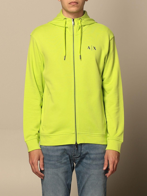 Sweatshirt Armani Exchange: Sweatshirt homme Armani Exchange vert 1