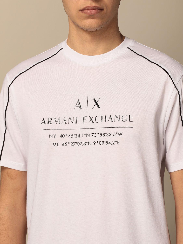 T-shirt Armani Exchange: Jumper men Armani Exchange white 3