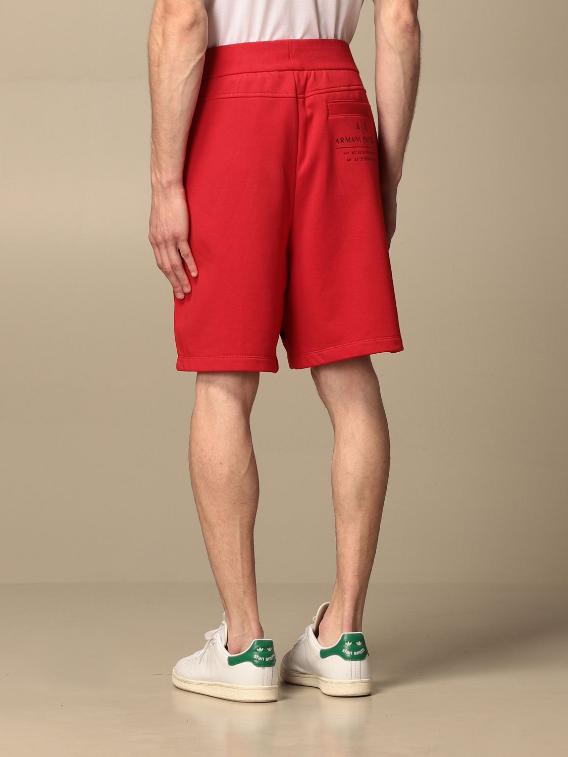 Trousers Armani Exchange: Trousers men Armani Exchange red 2