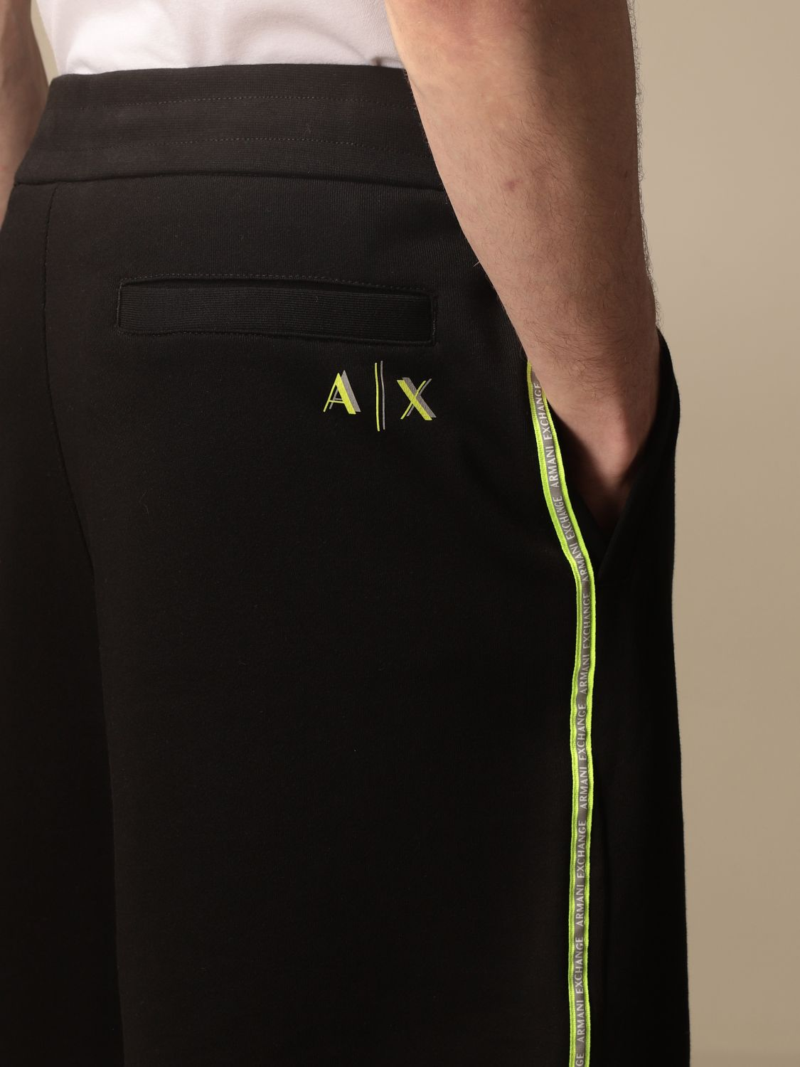 Trousers Armani Exchange: Trousers men Armani Exchange black 3