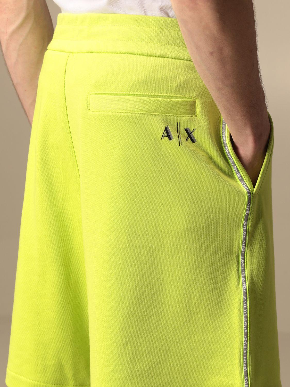 Short Armani Exchange: Pants men Armani Exchange green 3