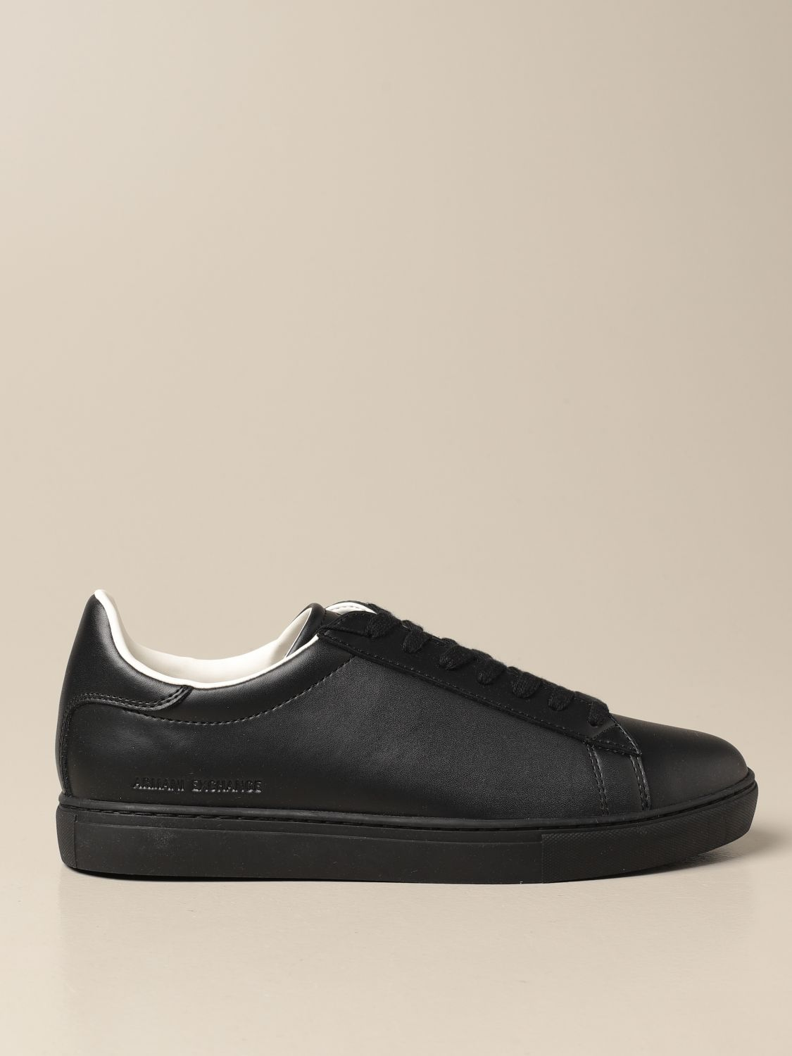 Trainers Armani Exchange: Trainers men Armani Exchange black 1
