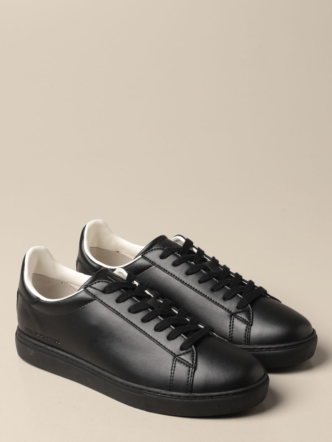 Trainers Armani Exchange: Trainers men Armani Exchange black 2