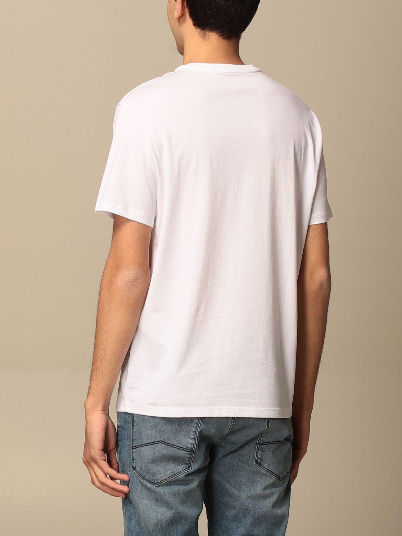 T-shirt Armani Exchange: Armani Exchange cotton T-shirt with print white 2