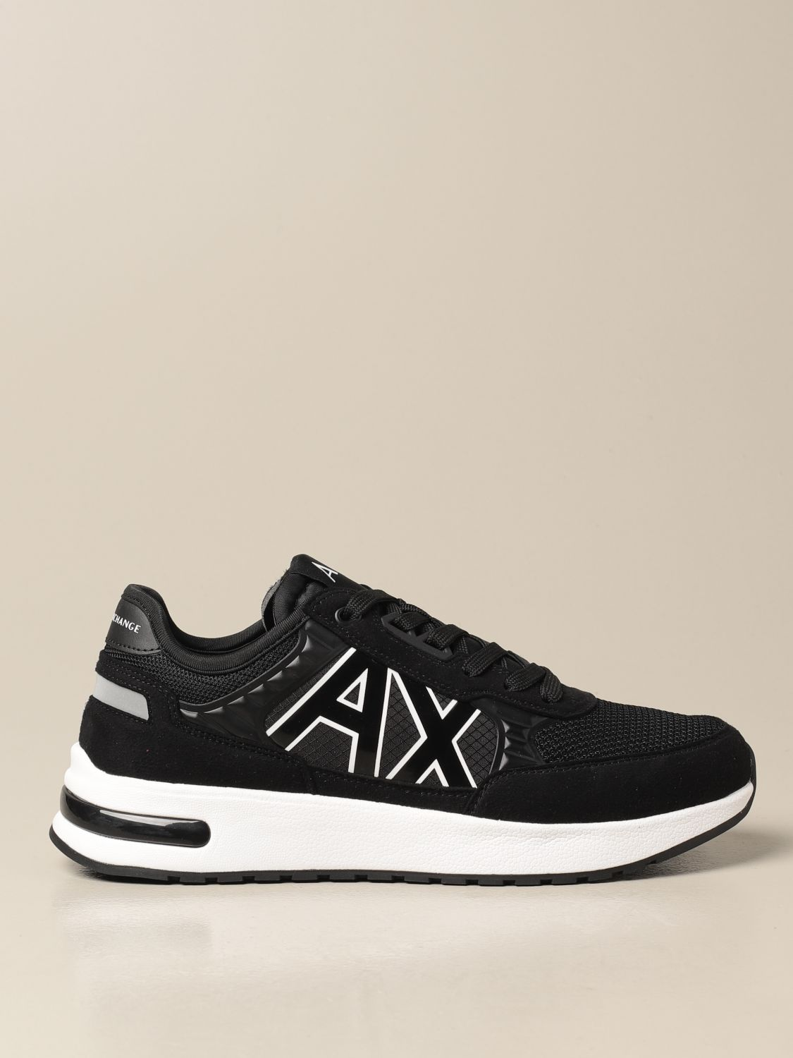 Sneakers Armani Exchange: Armani Exchange sneakers in fabric and synthetic suede black 1