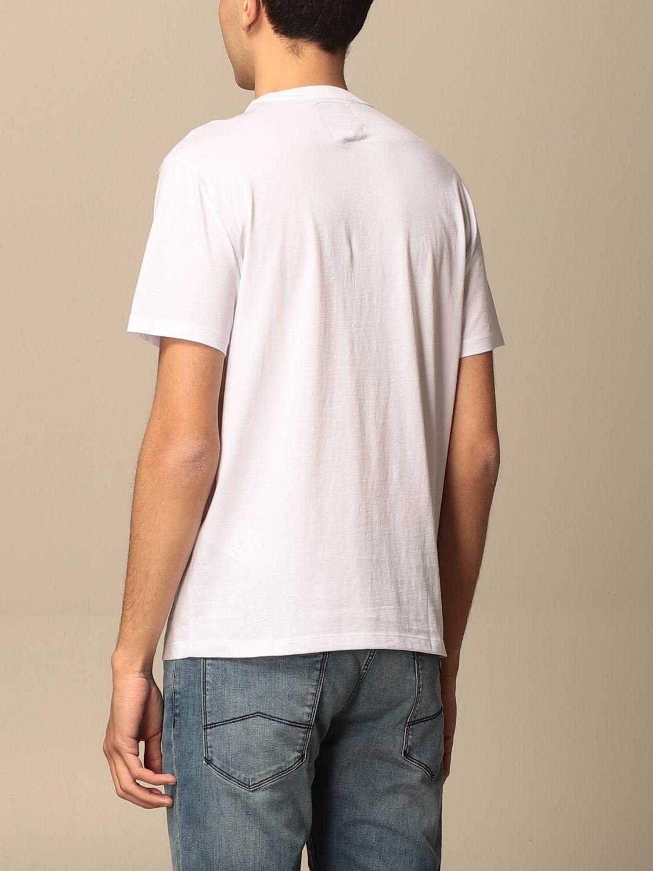 T-shirt Armani Exchange: T-shirt homme Armani Exchange blanc 2