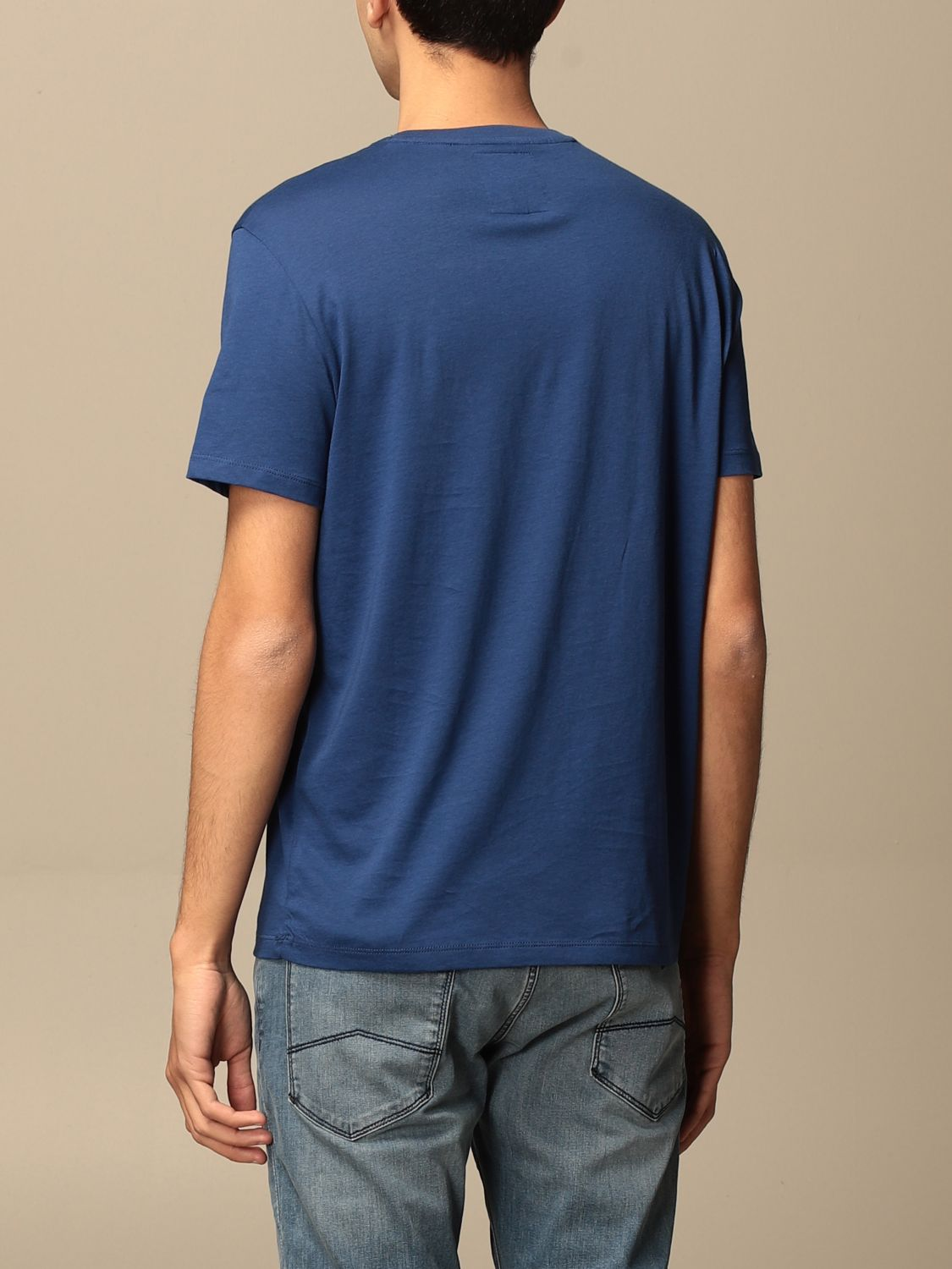 T-shirt Armani Exchange: Armani Exchange T-shirt with logo blue 2