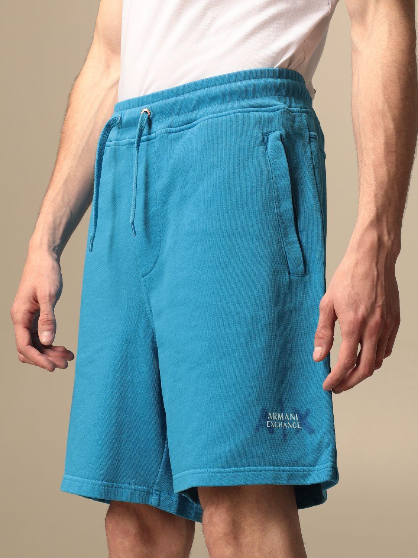 Short Armani Exchange: Pantalon homme Armani Exchange bleu 3