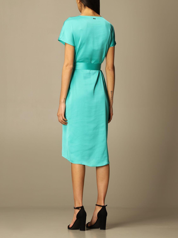 Vestido Armani Exchange: Vestido mujer Armani Exchange verde 2