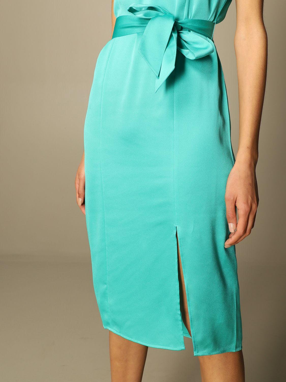 Vestido Armani Exchange: Vestido mujer Armani Exchange verde 3