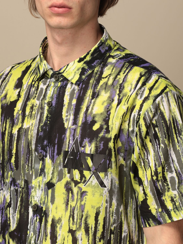 Shirt Armani Exchange: Shirt men Armani Exchange green 3
