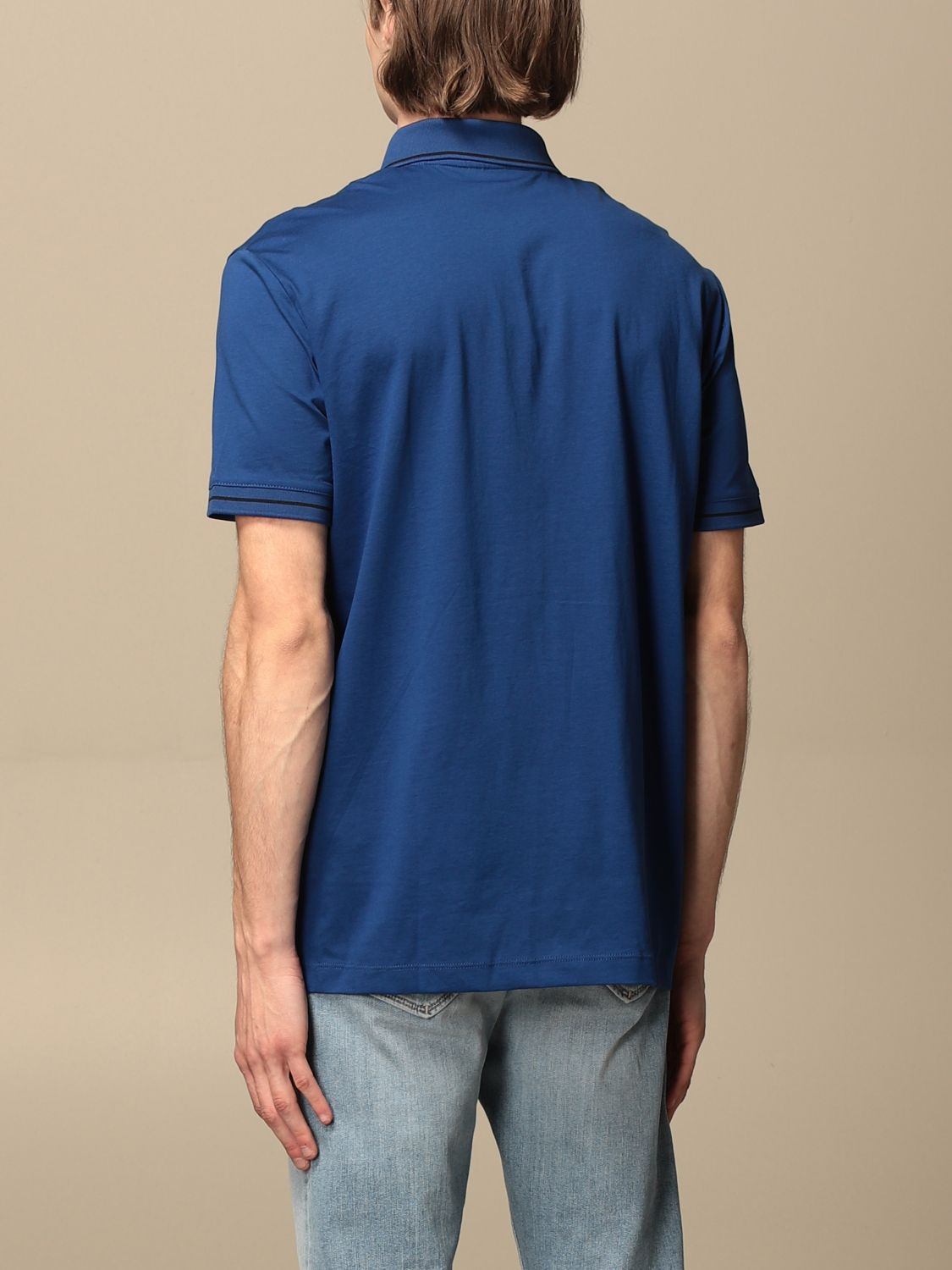 Polo shirt Armani Exchange: Polo shirt men Armani Exchange blue 2