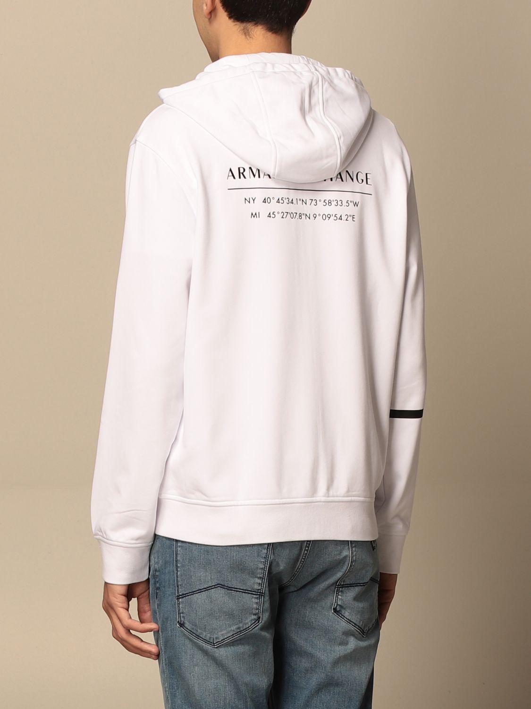 Sweatshirt Armani Exchange: Sweatshirt men Armani Exchange white 2